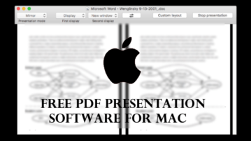 PDF Presentation Software for MAC SplitShow