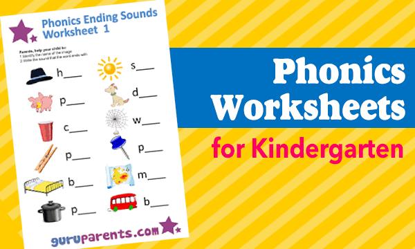 10 Free Phonics Worksheets For Kindergarten Online