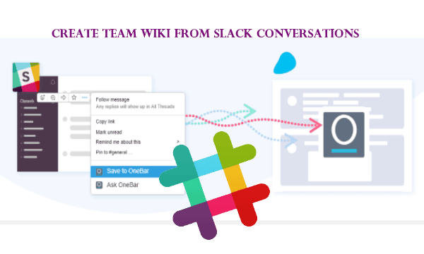 Slack Wiki App to Create Team Wiki from Slack Conversations