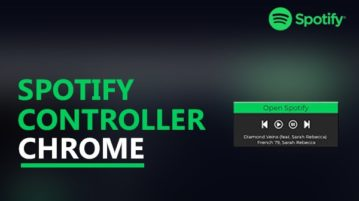 Spotify controller chrome