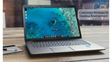 Customize Windows 10 Desktop with Dynamic Desktop, Folder Stacks