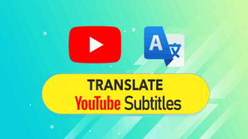 YouTube subtitle translators