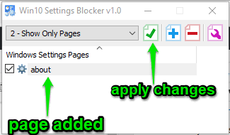 add pages and apply changes