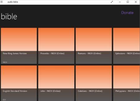 2 Free Windows 10 Audio Bible Apps
