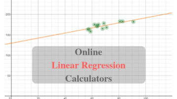 Calculate Linear Regression Online With These Free Websites