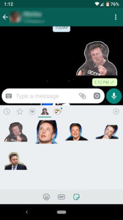 make stickers for Whatsapp