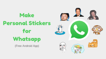 Convert Photo to Whatsapp Sticker with Free Android App