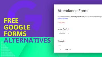 free google forms alternatives