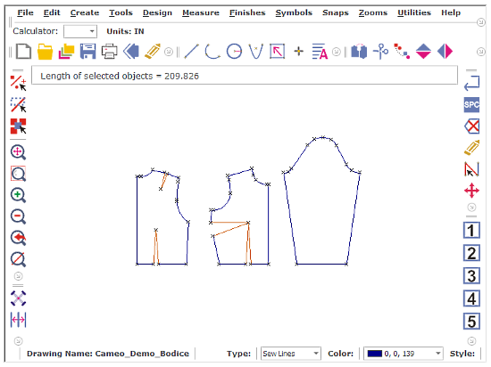 pattern drafting software for Windows