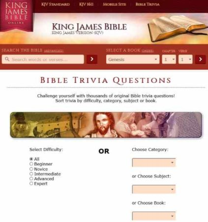 5 Free Online Bible Quizzes to Test your Knowledge of the Bible