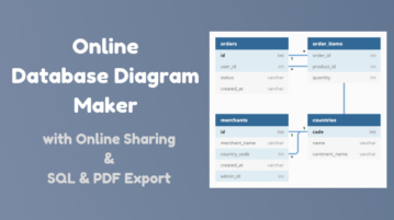 Free Online Database Diagram Maker with Sharing, Export as SQL, PDF