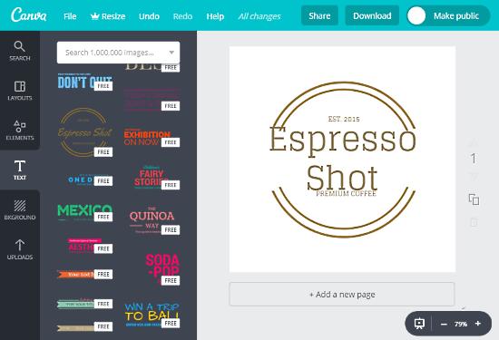 free online hipster logo maker