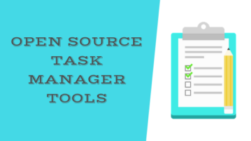 Free Open Source Task Manager Tools