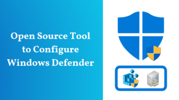 Free Open Source Tool To Configure Windows Defender