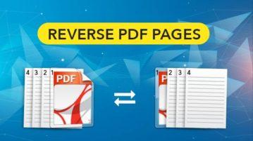 reverse pdf pages