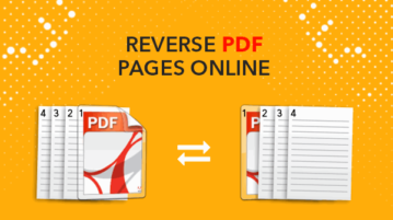 reverse pdf pages online