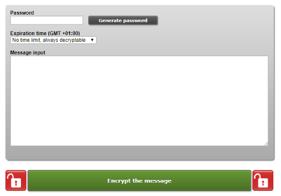 share self-destructive private notes with password protection
