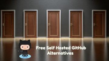 5 Free Self Hosted GitHub Alternatives