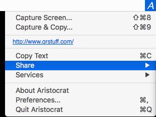 Aristocrat interface