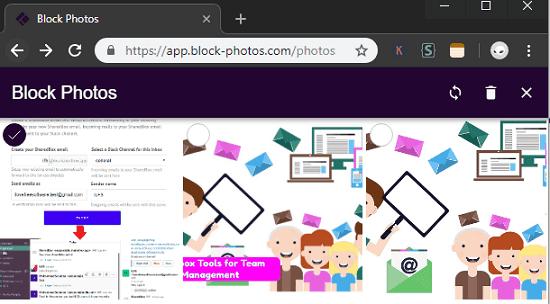 Block Photos blockchain based photo storage