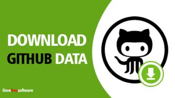 Download your GitHub data