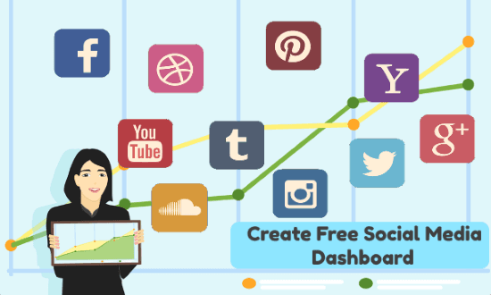 Free Social Media Dashboard with these Websites Online