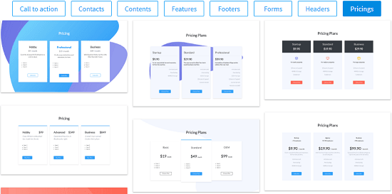 Download Froala Design Blocks Free for building Websites