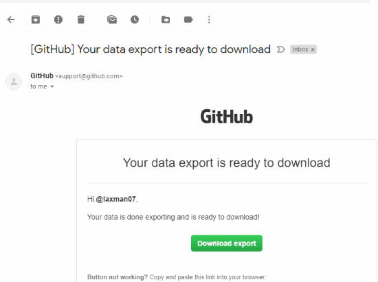 GitHub data ready to download