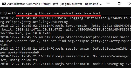 Gitbucket launch