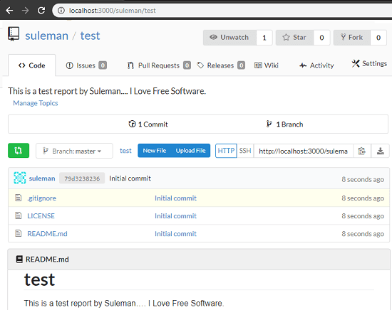 Gitea free GitHub alternative self hosted