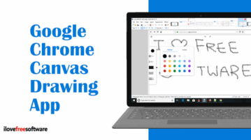 Google Chrome Canvas Drawing App