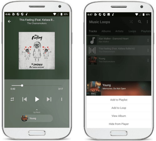 Music Loops free android music player without ads