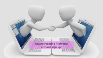 Online Meeting Platform with Text Chat, Screen Sharing without Sign Up