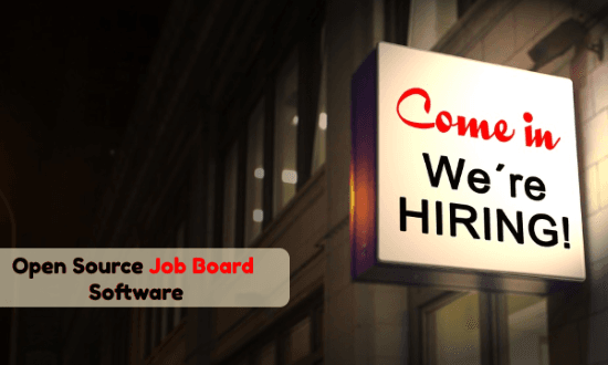 Open Source Job Board Software