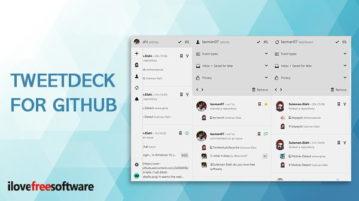 TweetDeck for GitHub