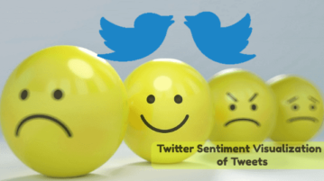 Twitter Sentiment Visualization of Tweets