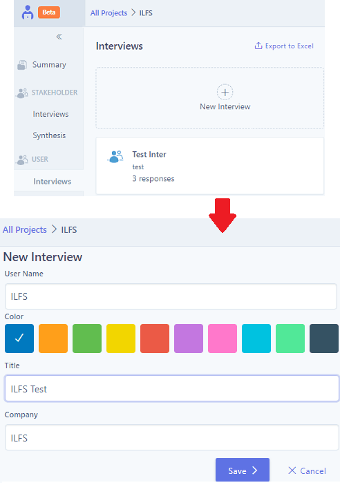 UserBit create a user for interview