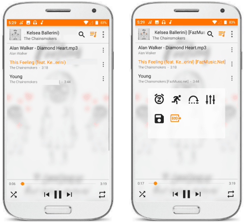 VLC free ad free music player android