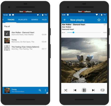 Vanilla Music Player Open Source