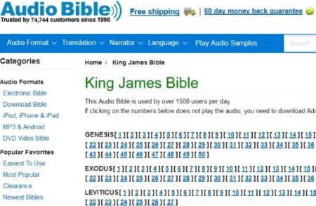 6 Free Online Audio Bible to Listen to The Bible