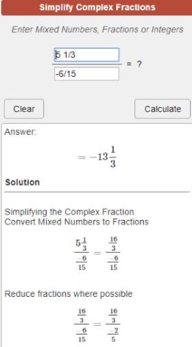calculatorsoup calculation step