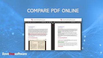 compare pdf online