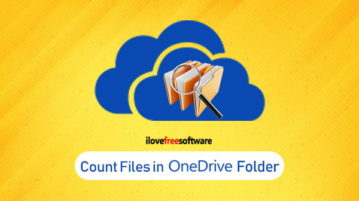 count files in onedrive folder