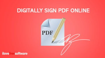 digitally sign pdf online