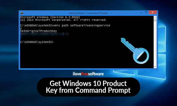 How To Find Windows 10 Product Key using Command Prompt?