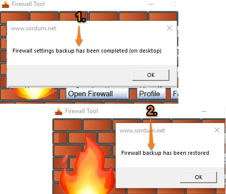 firefox settings backup and restored