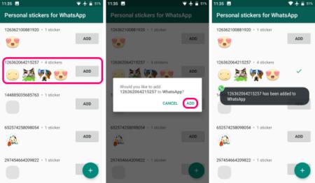 messenger sticker to whatsapp
