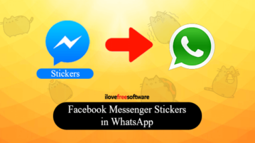 How to Use Facebook Messenger Stickers in WhatsApp