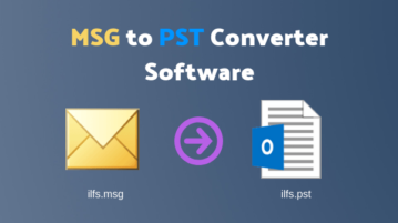 Free MSG to PST Converter Software for Windows