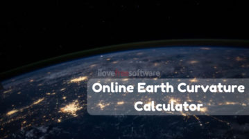 5 Online Earth Curvature Calculator Websites Free